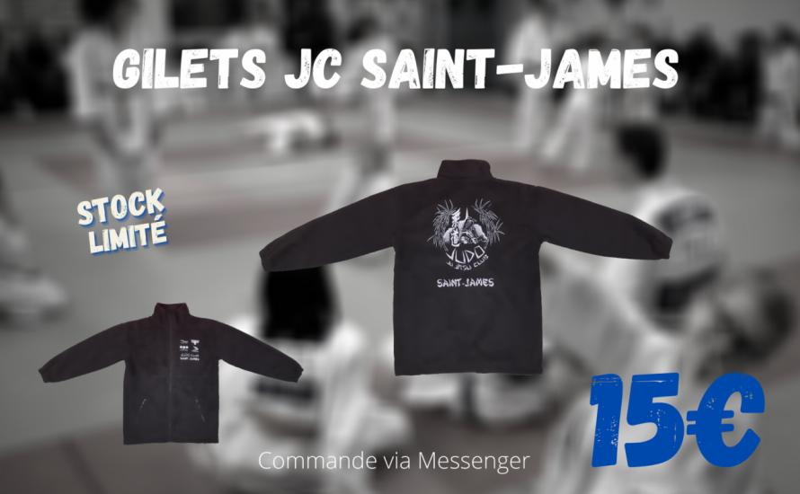 Gilets Judo Club Saint-James