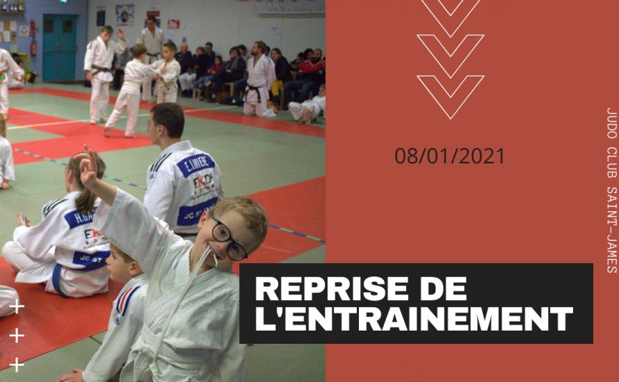 Vidéo Reprise Entrainement 08/01/2021