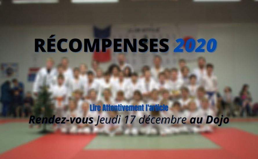 Récompence 2020 Jeudi 17 décembre.