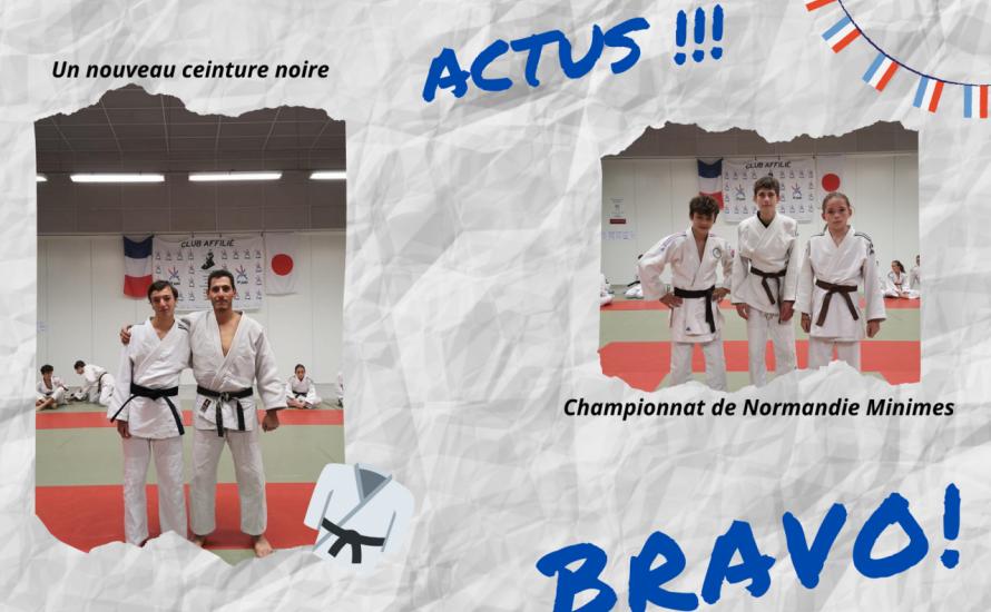 Un nouveau ceinture noire et une qualification pour les FRANCE !